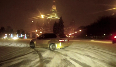 Video Of The Day Drift Night in Moscow
