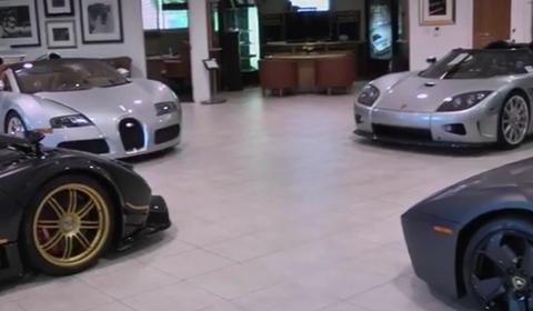 Video O'Gara Coach Ultimate Supercar Showroom