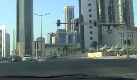 Video Porsche 997 Turbo Hits 223km/h in Doha Qatar