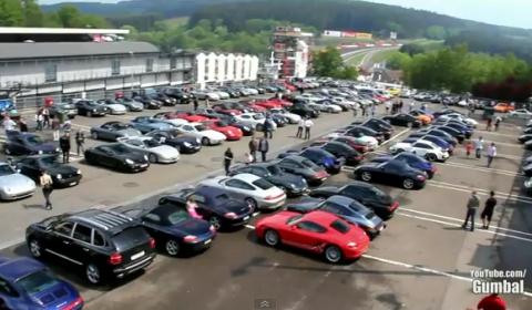 Video World's Best Porsche Car Park Ever
