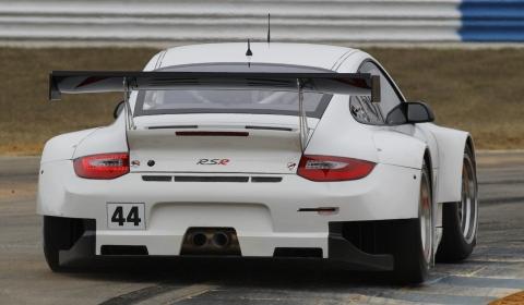 Four 2012 Porsche 911 GT3 RSR Cars Debut at Sebring Test 01