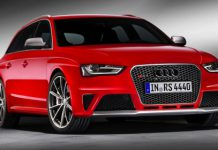 2013 Audi RS4 Avant Official Pictures Leaked Before Debut at Geneva