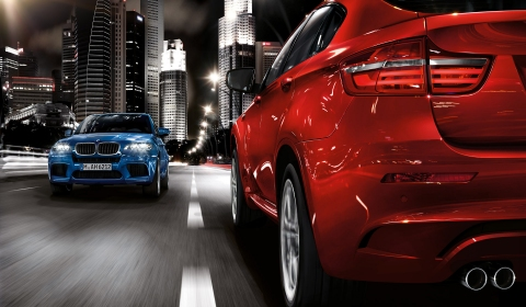 2013 BMW X5 M and X6 M Facelift