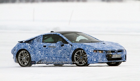BMW i8 Spied in Sweden