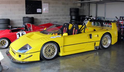 Ferrari F40 Beurlys Barchetta