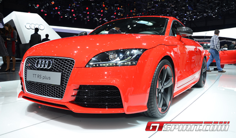 Geneva 2012 Audi TT-RS Plus