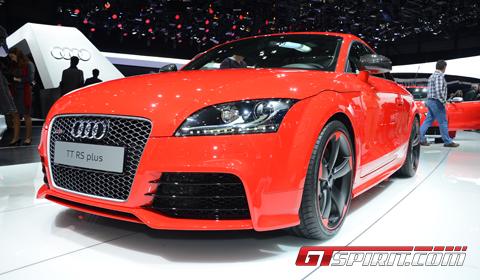 Geneva 2012 Audi TT-RS Plus