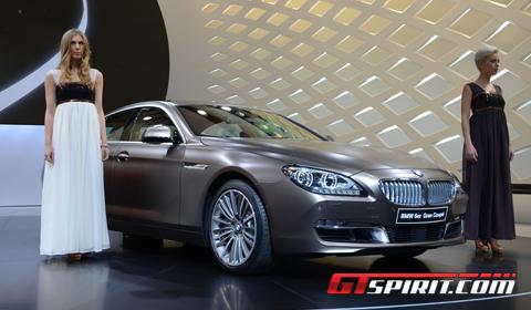 Geneva 2012 BMW 6-Series Gran Coupe