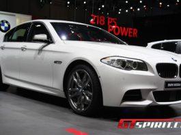 Geneva 2012 BMW M550xd