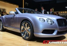 Geneva 2012 Bentley Continental GTC V8