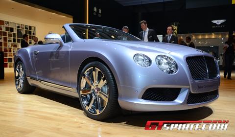 Geneva 2012 Bentley Continental GTC V8