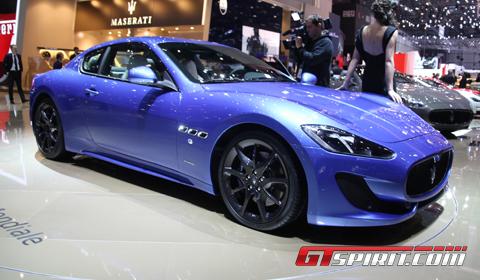 Geneva 2012 Maserati GranTurismo Sport