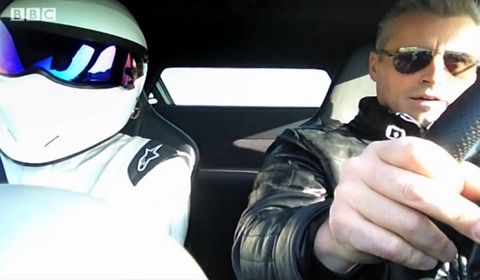 Matt LeBlanc, The Stig and the McLaren MP4-12C
