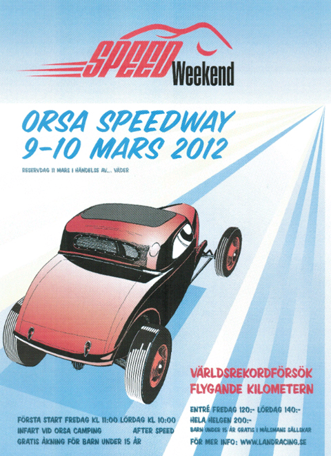 Morgen 3 Wheeler Land Speed Record Attempt on Ice 01