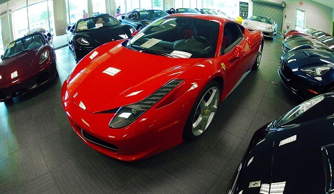 Naples Motorsport Showroom in Florida