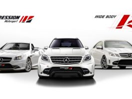 Official Expression Bodykits for 2012 ML63, E-Class and SLK