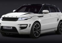 Official Onyx Concept Range Rover Evoque Rouge Edition