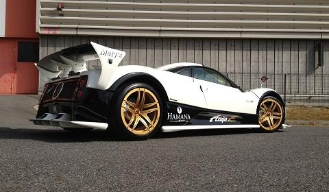Pagani Zonda S and Xenatech Maybach Coupe With Forgiato Wheels