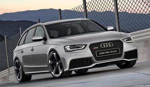 Rendering: Audi RS4 Avant