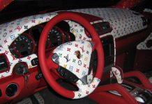Techart Porsche Cayenne With Louis Vuitton Interior