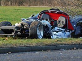 Ultima GTR Wrecked in Fareham