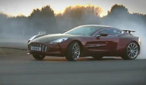 Video Aston Martin One-77 Passenger Ride by Autocar