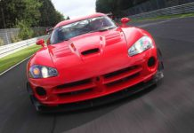 Video Dodge Viper ACR-X Laps Nurburgring in 7:03.058