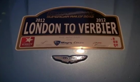 Video DodgeBall Supercar Rally 2012 - London Arrivals