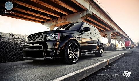Wide Body Range Rover Sport on Modulare Wheels