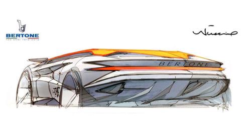 Bertone Nuccio Concept Previewed Ahead of Geneva Motor Show 01