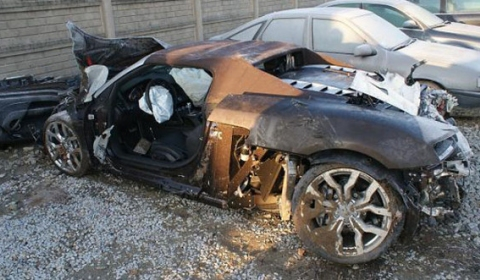 Car Crash Audi R8 Involved in Tragic Accident in Poland
