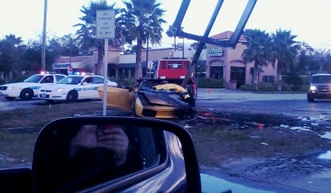 Car Crash Driver Killed in Lamborghini Gallardo Crash in Ormond Beach