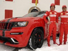 Fernando Alonso and Felipe Massa Get Personalized Grand Cherokee SRT8