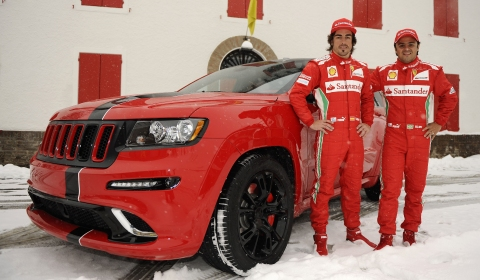 Fernando Alonso and Felipe Massa Get Personalized Grand Cherokee SRT8