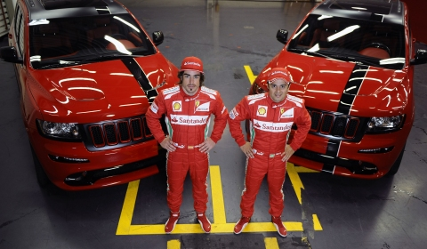 Fernando Alonso and Felipe Massa Get Personalized Grand Cherokee SRT8 01