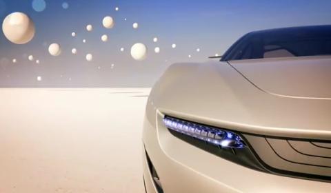 Fourth Teaser Pininfarina Cambiano Concept