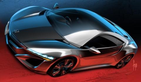 Honda NSX Concept Debuts at Geneva Motor Show