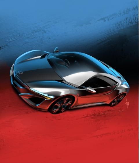 Honda NSX Concept Debuts at Geneva Motor Show 01