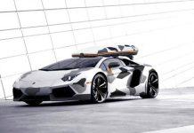 Jon Olsson's Lamborghini Aventador