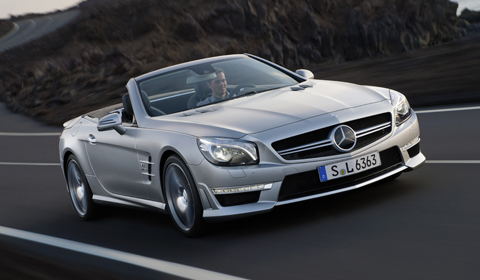 Official 2013 Mercedes-Benz SL 63 AMG