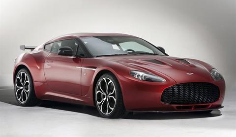 Official Aston Martin V12 Zagato Production Pictures