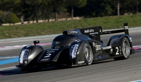 Official Audi with Hybrid Drive at Le Mans 2012