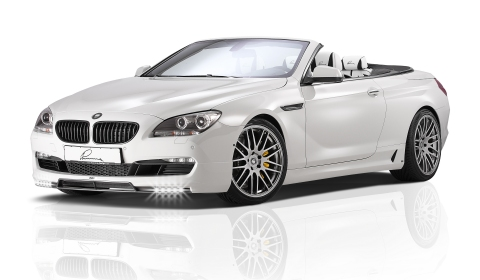 Official BMW 650i Convertible Lumma CLR 600 GT