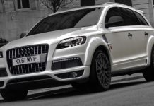 Official Kahn Design Widetrack Audi Q7
