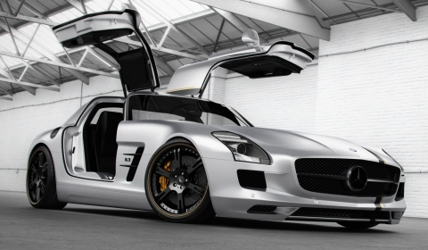 Official Mercedes-Benz SLS AMG Silver Wing by Wheelsandmore