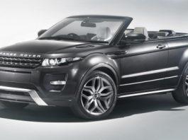 Official Range Rover Evoque Convertible Concept