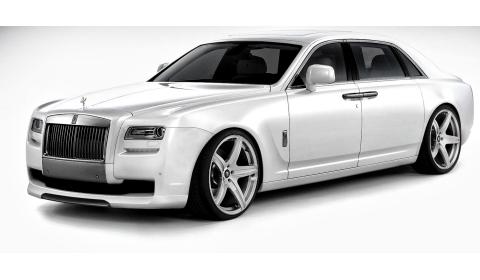 Official Rolls-Royce Ghost by Vorsteiner