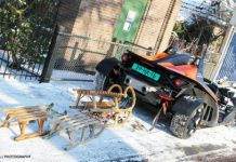 Photo Of The Day KTM X-Bow Powers Snow Sleds