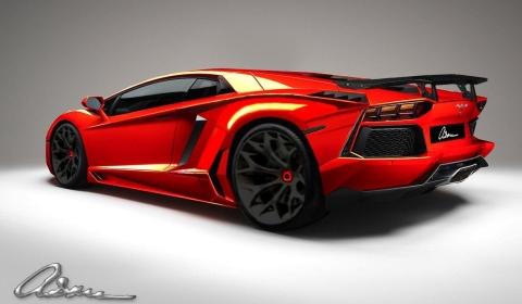 Render Lamborghini Aventador LP700-4 by ASMA