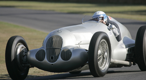 Silver Arrow Racers at 2012 Goodwood Revival 01